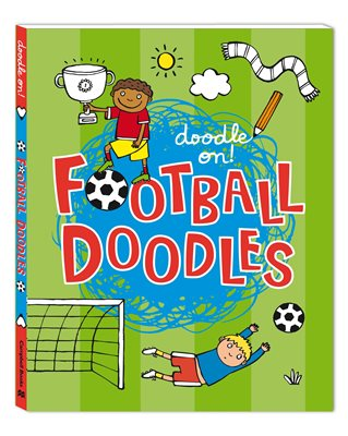 Book cover for Doodle On!: Football Doodles